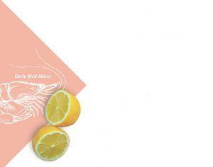 la cote a la carte menu early lemon
