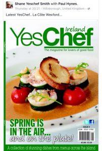 la cote yes chef magazine