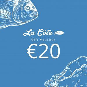 la cote 20 euro voucher