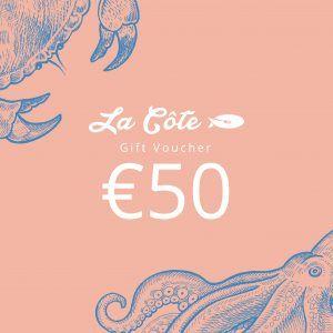 la cote 50 euro voucher