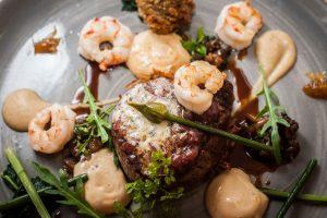la cote seafood dish