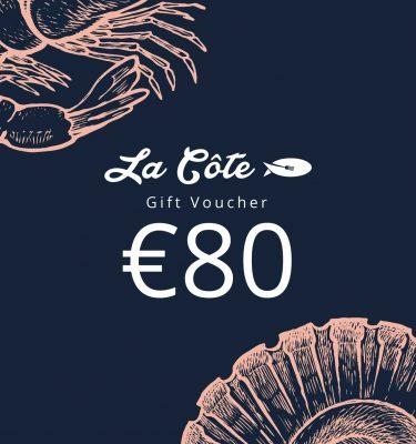 la cote 80 euro voucher