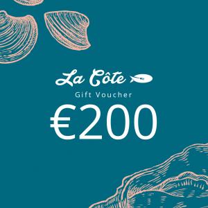 la cote 200 euro voucher
