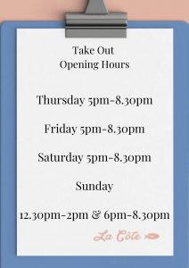 Opening Hours Take