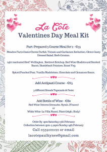 Valentines at Home Meal kits